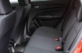 Suzuki Swift Allgrip, interior, rear