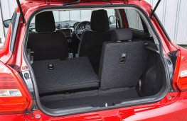 Suzuki Swift Allgrip, boot