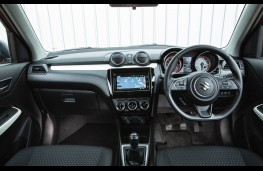 Suzuki Swift Allgrip, interior