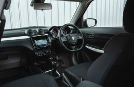 Suzuki Swift Allgrip, interior