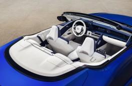 Lexus LC 500 Convertible, 2019, cockpit