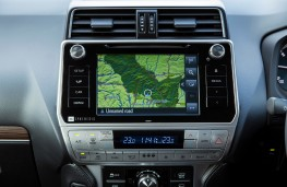 Toyota Land Cruiser, 2021, display screen
