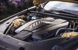 Lexus LC 500, 2017, engine