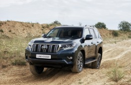 Toyota Land Cruiser, 2018, front, off road