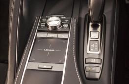 Lexus LC 500, 2017, gear lever