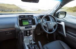 Toyota Land Cruiser, 2021, interior