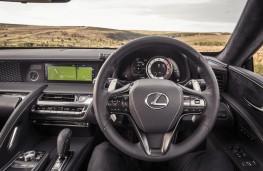 Lexus LC 500, 2017, interior