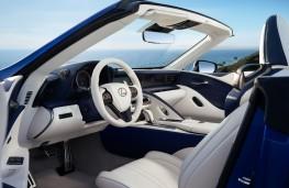 Lexus LC 500 Convertible, 2019, interior