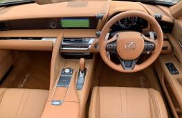Lexus LC 500 Convertible, 2021, interior