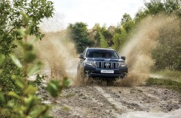 Toyota Land Cruiser, 2018, off road