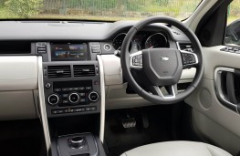 Land Rover Discovery Sport Si4 SE Tech, cabin