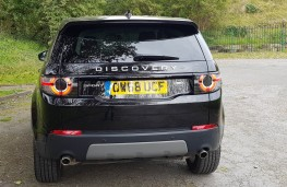 Land Rover Discovery Sport Si4 SE Tech, rear