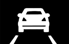 Lane assist symbol