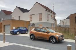 Dacia Sandero Stepway and Sandero, 2020