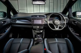 Nissan Leaf e+, interior
