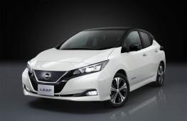 Nissan Leaf, 2018, front