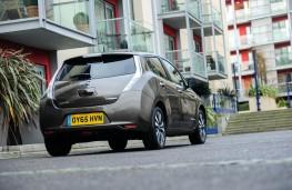 Nissan Leaf, rear