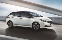 Nissan Leaf, 2017, action