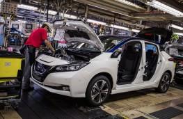 Nissan Leaf, 2017, production at Sunderland