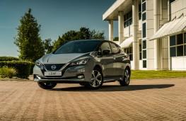 Nissan Leaf, 2021, front