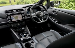 Nissan Leaf e+, 2019, interior