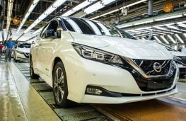 Nissan Leaf, 2017, Sunderland production line