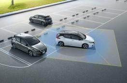 Nissan Leaf, 2018, automatic parking