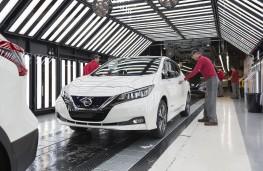 Nissan Leaf, production at Sunderland
