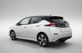 Nissan Leaf, 2018, rear