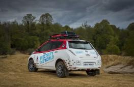 Nissan LEAF AT-EV, 2017, rear, static
