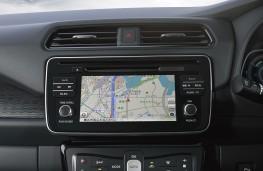 Nissan Leaf, 2018, display screen
