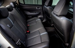 Nissan Leaf, 2018, rear seats