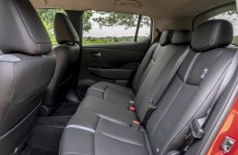 Nissan Leaf e+, 2019, rear seats