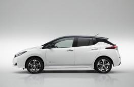 Nissan Leaf, 2018, side