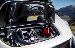 Nissan Leaf, 2018, charging socket