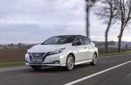 Nissan Leaf10, 2021, front
