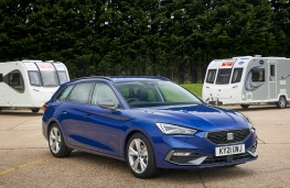 SEAT Leon Estate FR, 2021, front, Towcar of the year 2021