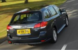 Subaru Legacy Sports Tourer, rear