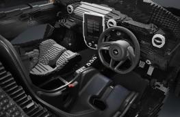 Lego McLaren Senna cockpit
