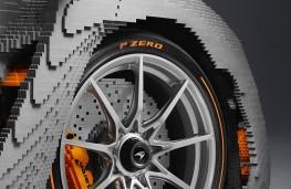 Lego McLaren Senna front wheel