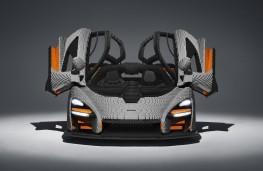 Lego McLaren Senna head on