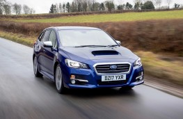 Subaru Levorg, front