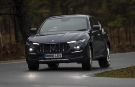 Maserati Levante GTS, 2019, front, action