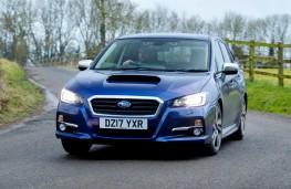 Subaru Levorg, 2017, front, action
