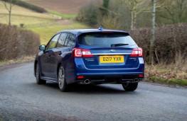 Subaru Levorg, 2017, rear, action
