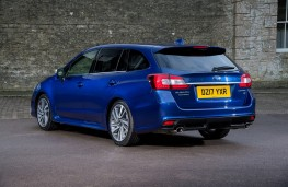 Subaru Levorg, 2017, rear, static