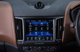 Maserati Levante GTS, 2019, display screen