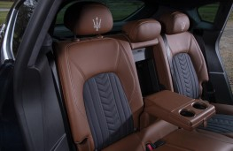 Maserati Levante GTS, 2019, rear seats