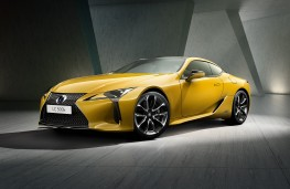 Lexus LC coupe Limited Edition, 2018, front