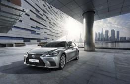 Lexus LS 500h, 2020, front